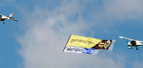 Aktuelle news fuer Luftwerbung - for Aerial Advertising